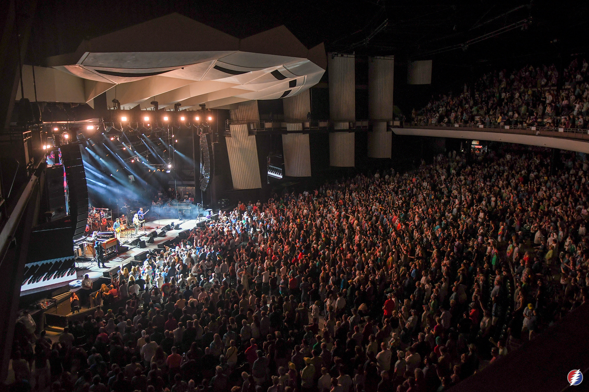 Dead and Company at Saratoga Performing Arts Center. 6.18.19. Photo by Katie Friesema